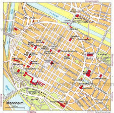 Wittenberg Germany Map by Mannheim Map