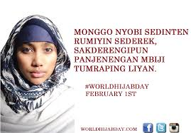 Nyobi by World Hijab Day Poster In Different Languages