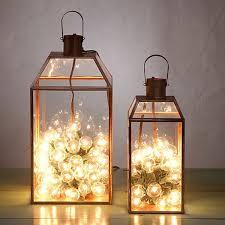 copper mansard lantern stage lights and