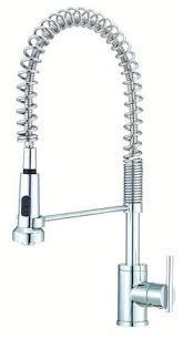 kraus commercial pre rinse chrome kitchen faucet style sourcelist contemporary kitchen faucets 300