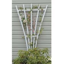 White Pvc Trellis The Garden Oracle Supports Trellises Gardening Advice U0026 Supplies