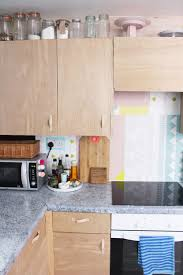 kitchen backsplash on a budget a modern diy kitchen makeover on a budget love the plywood