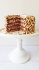 esterhazy torte hazelnut u0026 chocolate layer cake recipe