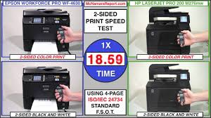 inkjet vs laser printing epson wf 4630 knocks out hp lj pro 200