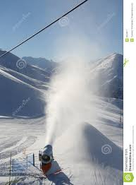 snow machine artificial snow machine royalty free stock photography image
