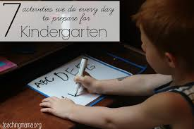 kindergarten readiness checklist teaching mama