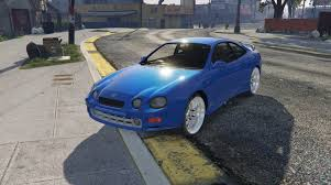 toyota celica mods toyota celica gt four st205 1994 add on replace gta5 mods com
