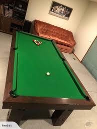 slate top pool table 8x4 foot slate top pool table trade me