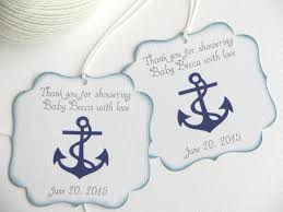 baby shower thank you nautical baby shower favor tags navy blue baby shower thank