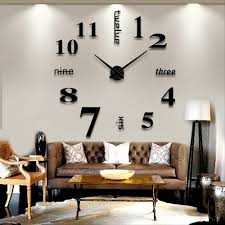 online buy wholesale 3d wall clock from china 3d wall clock