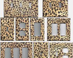Cheetah Home Decor Cheetah Spots Etsy
