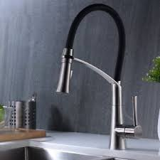 modern kitchen faucets stainless steel crea modern kitchen faucet stainless steel single lever pull