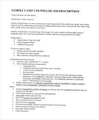 Camp Counselor Job Description For Resume by Safety Coordinator Resume Singapore Hotel Manager Cv Template Job