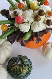 edible bouquet edible pumpkin centerpieces for your party table diy honestly