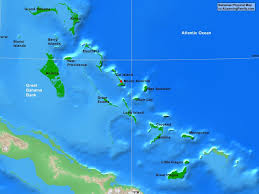 Physical Maps Bahamas Physical Map A Learning Family