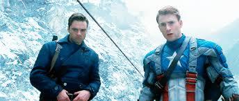 Mygif Captain America Steve Rogers Bucky Barnes Avengersedit