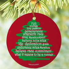 choose any two ornaments for 14 marathon triathlon