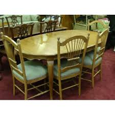 country dining room sets ethan allen country dining table and chairs 4266