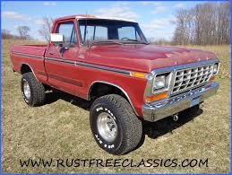 79 Ford F150 Truck Bed - 1979 f150 4x4 swb short bed original red paint custom mild lift