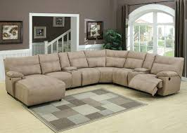 leather reclining sectional sofa u2013 stjames me