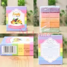 Sabun Thailand wink white fruitamin soap 10 in 1 original berhologram sabun pemutih