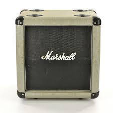 guitar speaker cabinets used marshall jubilee 10 inch slant cab guitar speaker cabinet 1 x