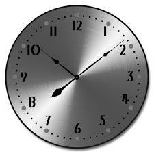 clock made of clocks heavy metal clock the big clock store