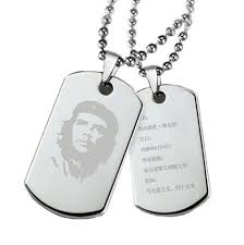 personalized dog tag necklace license necklace men titanium steel necklace