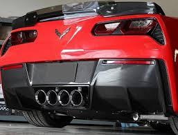carbon fiber corvette c7 corvette stingray z06 grand sport 2014 carbon fiber rear