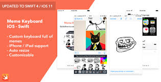 Meme Design App - meme keyboard ios app by rssyow codecanyon
