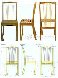 philadelphia side chair plans furniture plans and projects