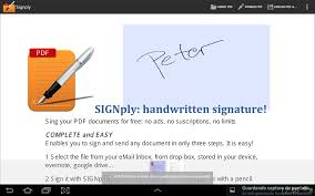 handwritten pdf e signatures android apps on google play