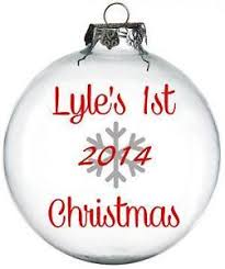 Blank Ornaments To Personalize Personalized Christmas Ornaments Ebay