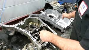 subaru mt5 re case 06 legacy transmission repair youtube