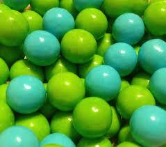 trixi s treasures llc chocolate balls light blue light green
