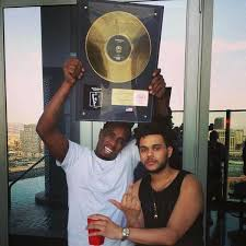 the weeknd gallery on p diddy the weeknd with the