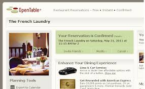 Open Table Rewards Four Tines And A Napkin Guest Post Reservations At The French