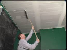 replace ceiling tiles with drywall tos diy