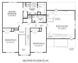 the carver plan 2304 second floor plans traditional twostory first