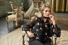olivia palermo gets romantic for holt renfrew