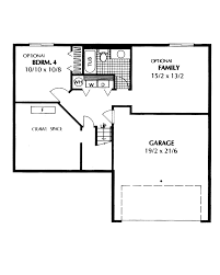 rectangular bungalow floor plans barton point split level home plan 015d 0147 house plans and more