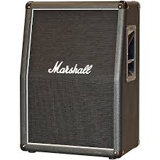Marshall 2x12 Vertical Slant Guitar Cabinet Musician S Friend