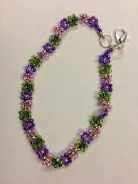 bead flower bracelet images 59 seed bead bracelet pattern simple bead patterns beading jpg