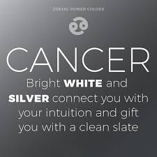 cancer colors zodiac what s your power color