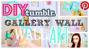 tumblr pinterest diy wall art youtube