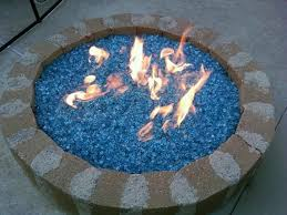 Fire Glass Pits by Glass Rocks For Fire Pit Fire Pit Ideas