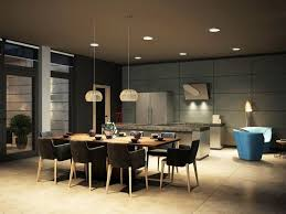 Dining Table Ceiling Lights White Modern Brushed Chrome Legs Dining Chairs Minimalist Dining