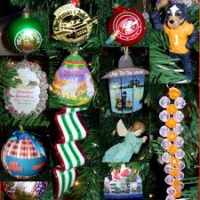 smoky mountain family historian christmas tree ornaments
