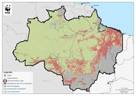Amazon Rainforest Map Acto Announces Top Priority For Deforestation Monitoring In The