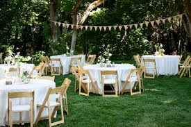 small backyard wedding reception ideas backyard decorations by bodog
